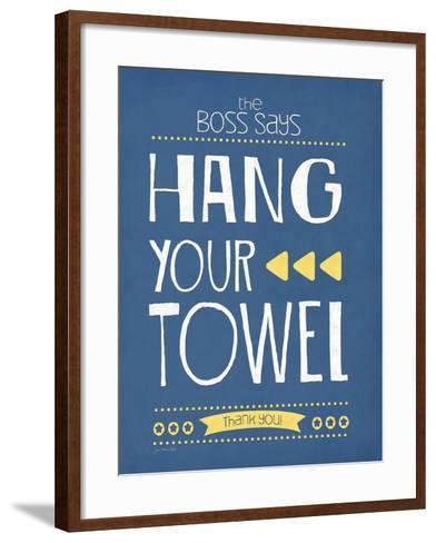 Hang Your Towel-Jo Moulton-Framed Art Print