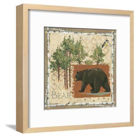 Black Bear-Anita Phillips-Framed Art Print
