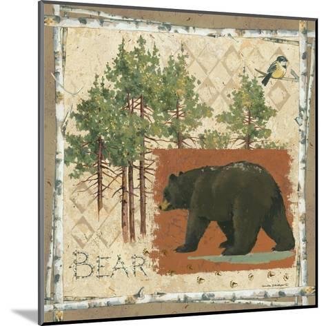 Black Bear-Anita Phillips-Mounted Art Print
