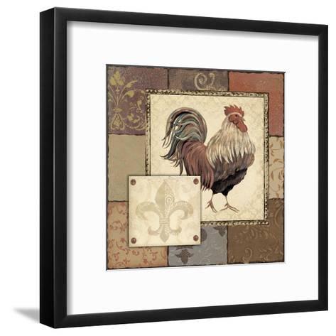 Rooster I-Jo Moulton-Framed Art Print
