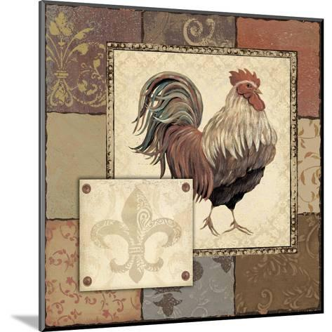 Rooster I-Jo Moulton-Mounted Art Print