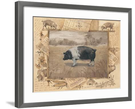 Pig-Anita Phillips-Framed Art Print