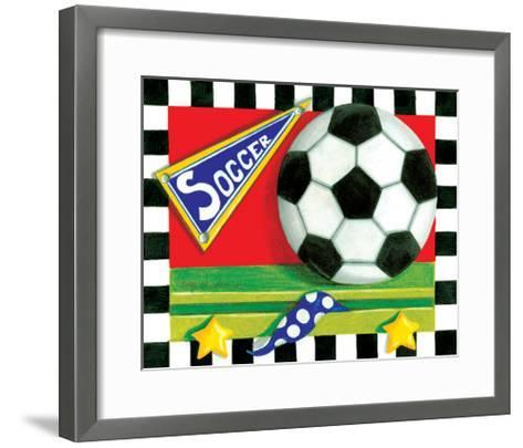 Soccer-Kathy Middlebrook-Framed Art Print