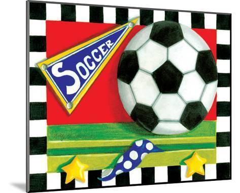 Soccer-Kathy Middlebrook-Mounted Art Print