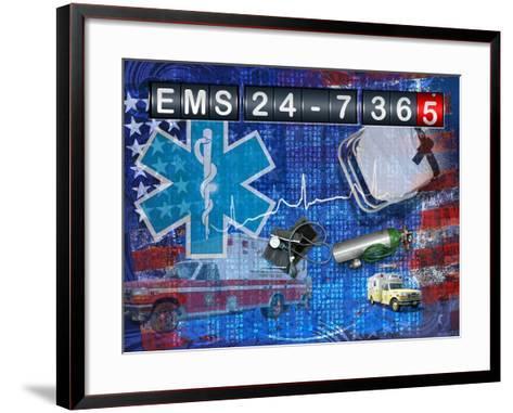 Ems 24-7 365-Jim Baldwin-Framed Art Print