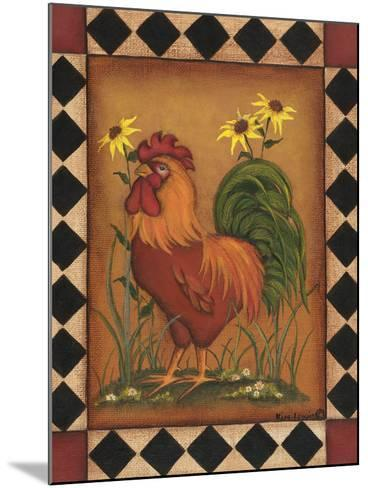 Red Rooster I-Kim Lewis-Mounted Art Print