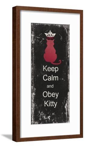 Obey Kitty-Jo Moulton-Framed Art Print