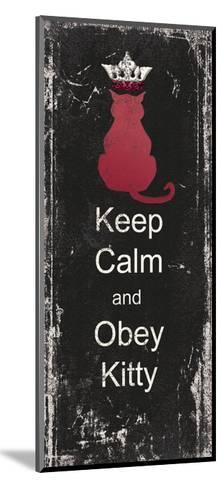 Obey Kitty-Jo Moulton-Mounted Art Print