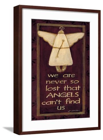 We are Never So Lost-Jo Moulton-Framed Art Print