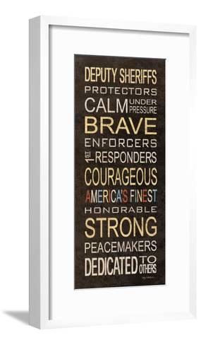 Deputy Sheriffs-Kathy Middlebrook-Framed Art Print