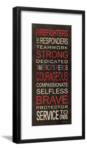 Firefighters-Kathy Middlebrook-Framed Art Print