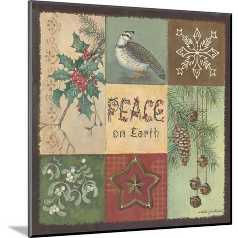 Peace on Earth-Anita Phillips-Mounted Art Print