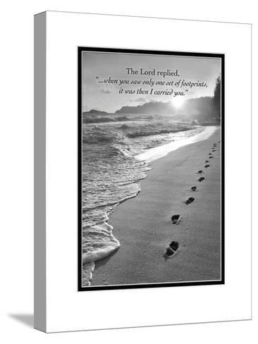 I Carried You-Dennis Frates-Stretched Canvas Print