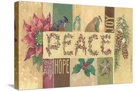 Peace-Anita Phillips-Stretched Canvas Print