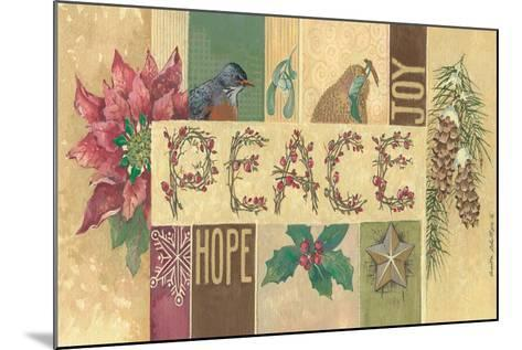 Peace-Anita Phillips-Mounted Art Print