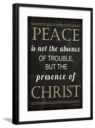 Peace-Jennifer Pugh-Framed Art Print