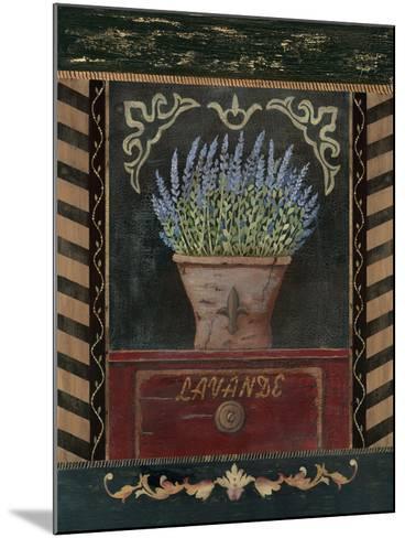 Lavander-Jo Moulton-Mounted Art Print