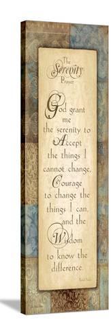 Serenity Prayer-Jo Moulton-Stretched Canvas Print