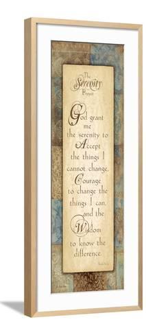 Serenity Prayer-Jo Moulton-Framed Art Print