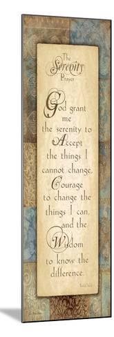 Serenity Prayer-Jo Moulton-Mounted Art Print
