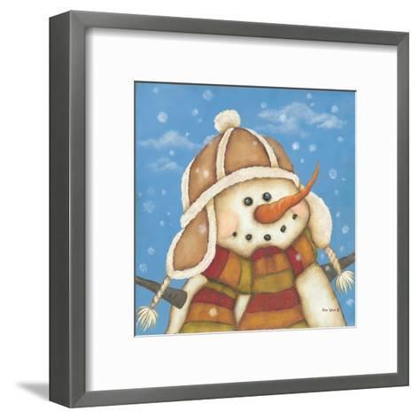 Snowman I-Kim Lewis-Framed Art Print