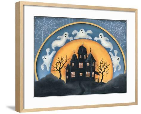 Haunted House-Kim Lewis-Framed Art Print