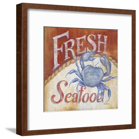 Fresh Seafood-Kim Lewis-Framed Art Print