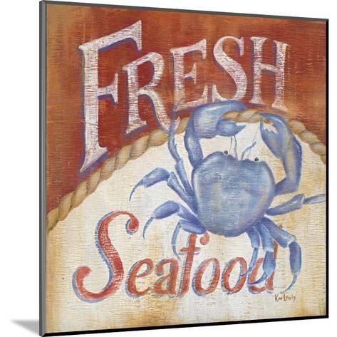 Fresh Seafood-Kim Lewis-Mounted Art Print