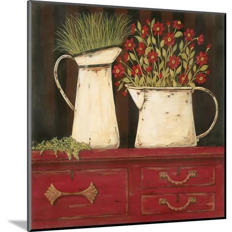 The Red Cupboard-Jo Moulton-Mounted Art Print