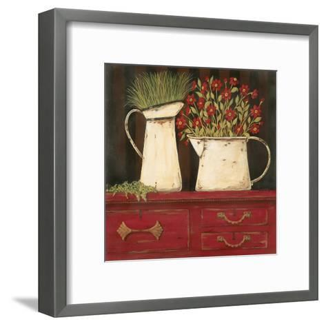 The Red Cupboard-Jo Moulton-Framed Art Print