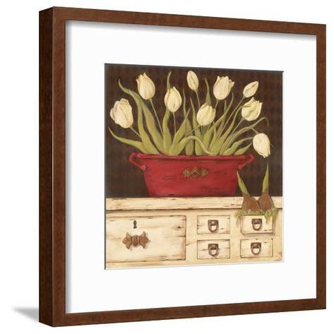 The White Cupboard-Jo Moulton-Framed Art Print