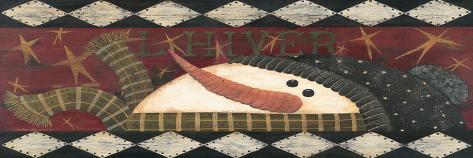 L'Hiver-Jo Moulton-Stretched Canvas Print