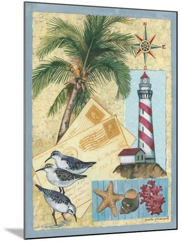 Lighthouse Letters-Anita Phillips-Mounted Art Print