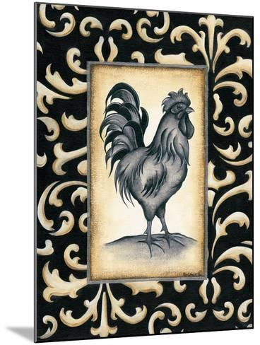 Rooster I-Kim Lewis-Mounted Art Print