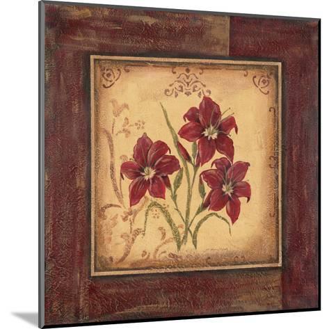 Crimson III-Jo Moulton-Mounted Art Print