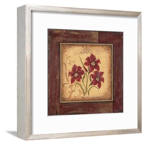 Crimson III-Jo Moulton-Framed Art Print