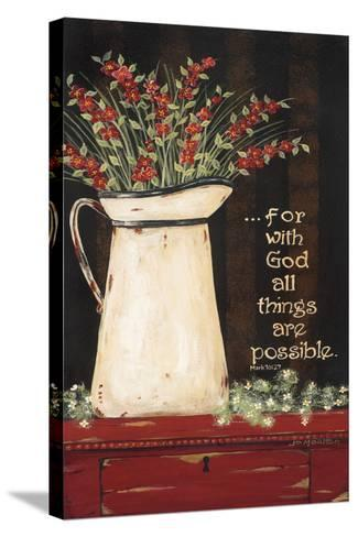 All Things are Possible-Jo Moulton-Stretched Canvas Print