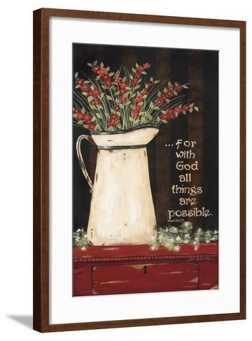All Things are Possible-Jo Moulton-Framed Art Print