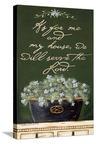 As for Me and My House-Jo Moulton-Stretched Canvas Print
