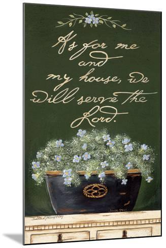 As for Me and My House-Jo Moulton-Mounted Art Print