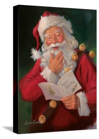 Dear Santa-Susan Comish-Stretched Canvas Print