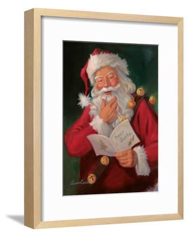 Dear Santa-Susan Comish-Framed Art Print