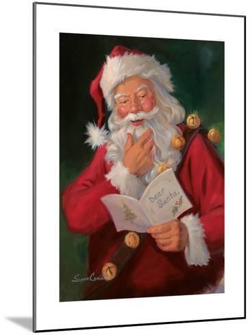 Dear Santa-Susan Comish-Mounted Art Print