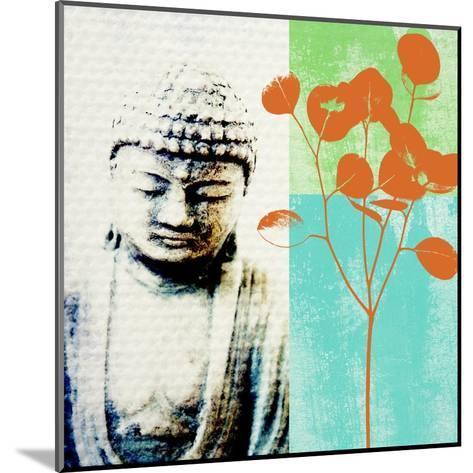 Buddha II-Linda Woods-Mounted Art Print