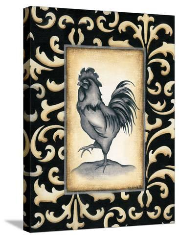 Rooster II-Kim Lewis-Stretched Canvas Print