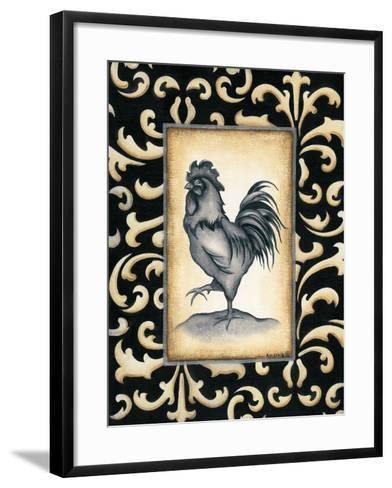 Rooster II-Kim Lewis-Framed Art Print
