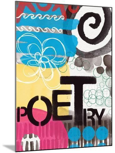 Abstract Poetry-Linda Woods-Mounted Art Print
