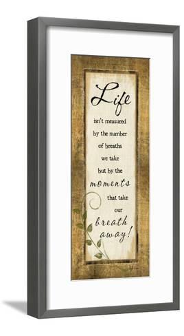 Life Isn't Measured-Jennifer Pugh-Framed Art Print