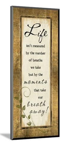 Life Isn't Measured-Jennifer Pugh-Mounted Art Print