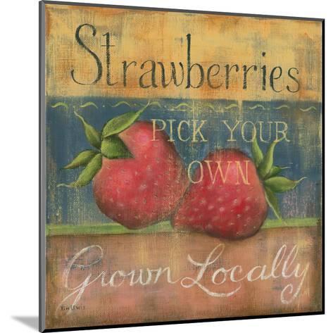Strawberries-Kim Lewis-Mounted Art Print